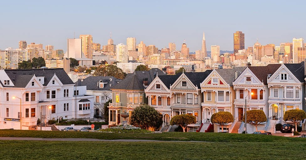 Art Now And Then The Painted Ladies Of San Francisco