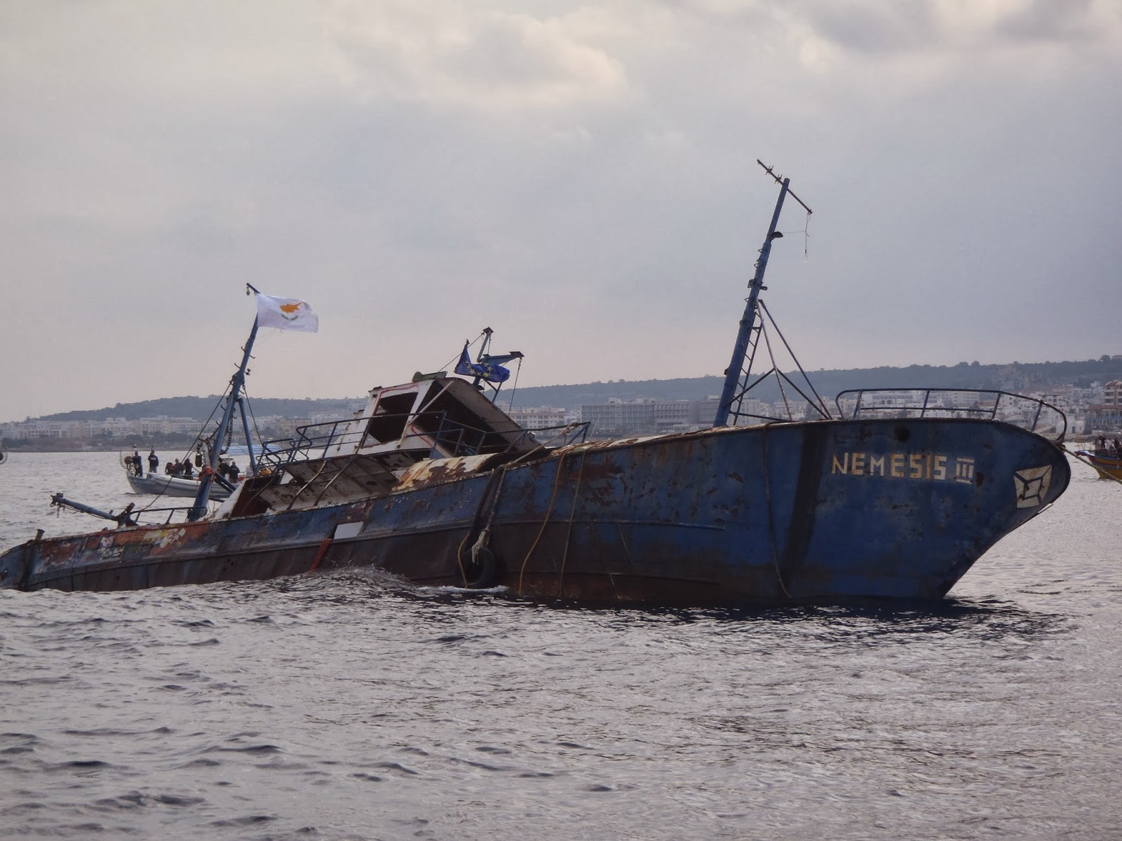 Protaras' second artificial reef in Cyprus