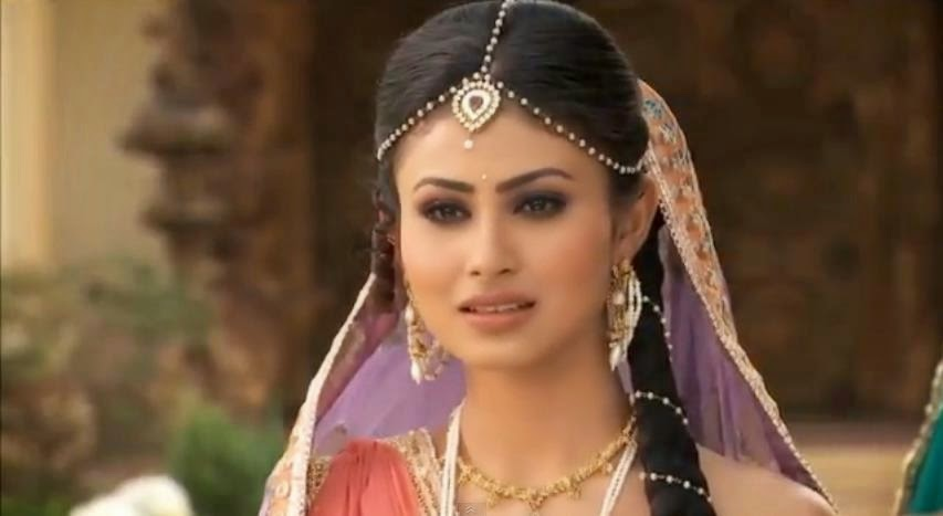 Mouni Roy in Naagin on Colors