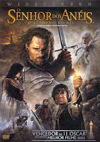 Filme O Senhor dos Anéis O Retorno do Rei Dublado AVI DVDRip