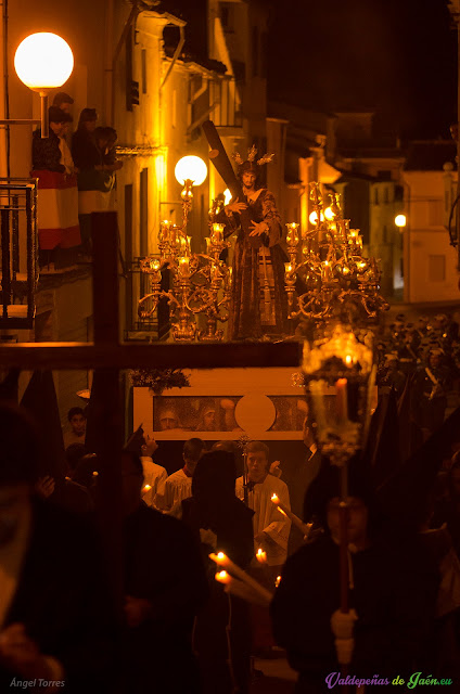 nazareno semana santa valdepeñas de jaén