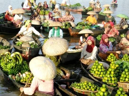 Itulah beberapa foto Tempat Wisata Di Banjarmasin, Kalimantan Selatan