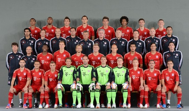 Tim Formasi Bayern Munchen 2013