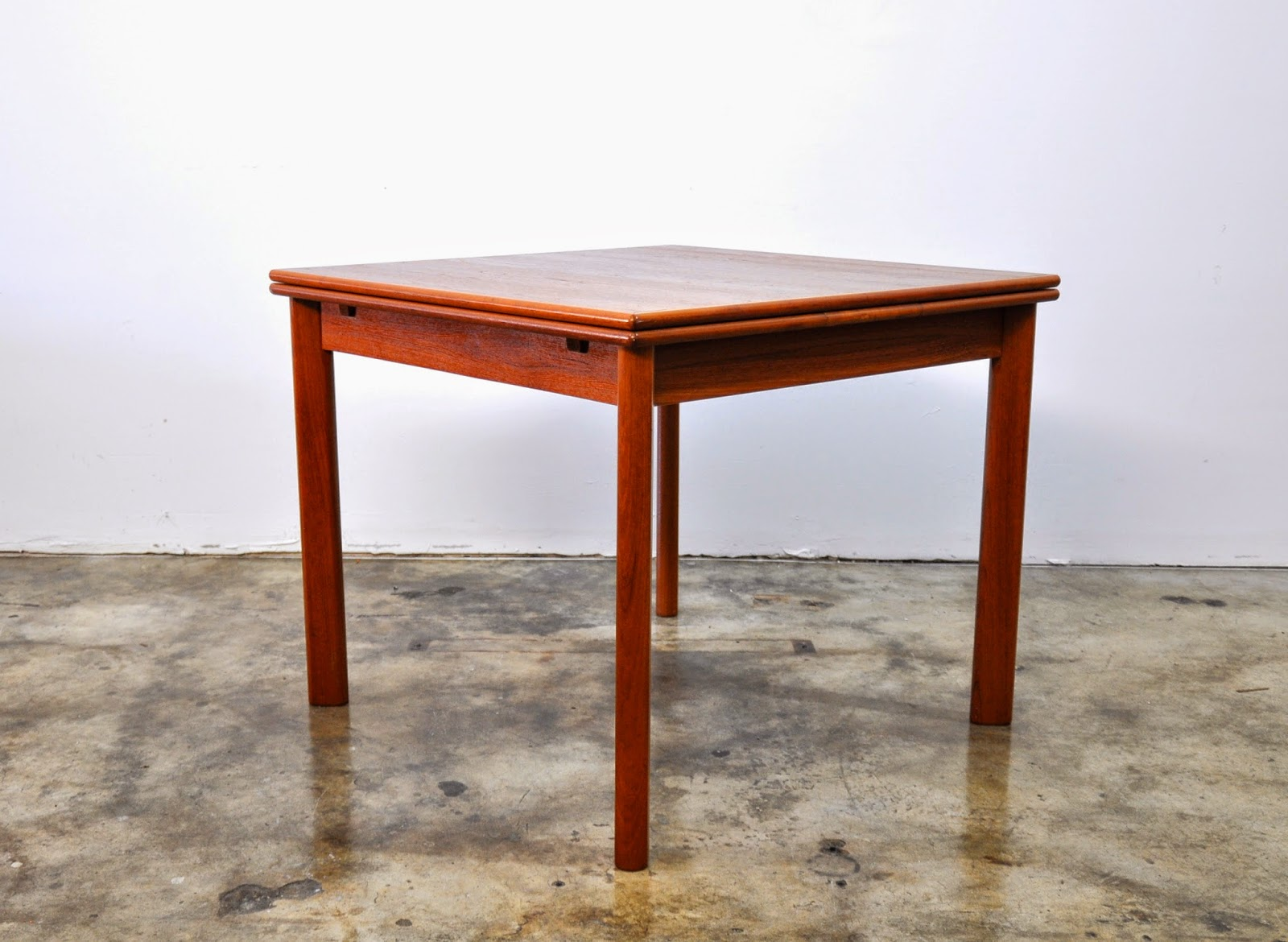 select modern danish modern teak expandable dining room table select modern danish modern teak expandable dining room table