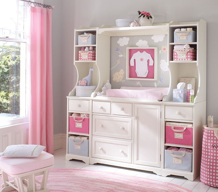 Home by heidi baby girl nursery ideas - Cute toddler girl room ideas ...