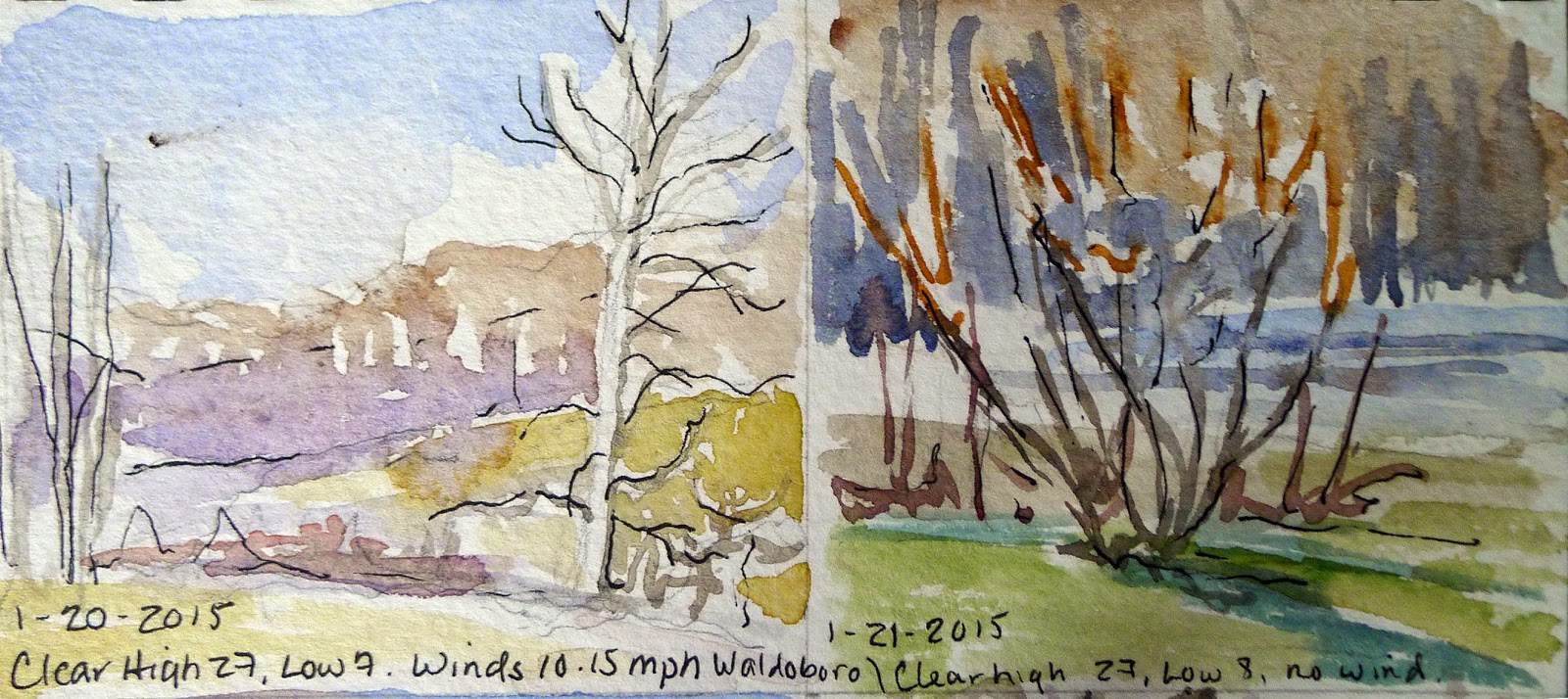 Watch me paint january 2015 when i arrived in waldoboro it was hovering around a high of 27 with a low in the single digits and no snow geenschuldenfo Choice Image