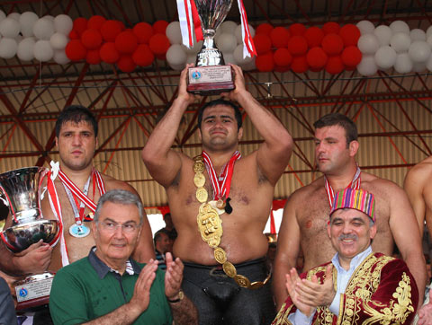 DECK THE HOLIDAY'S: KIRKPINAR-OIL WRESTLING FROM TURKEY!