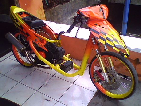 referensi modifikasi mio racing look