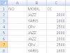 Membuat Nomor Urut Hasil Filter Excel