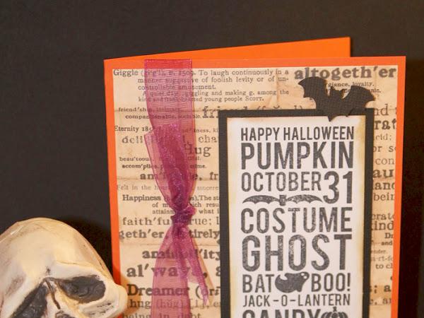 Quick & Easy Halloween Invite