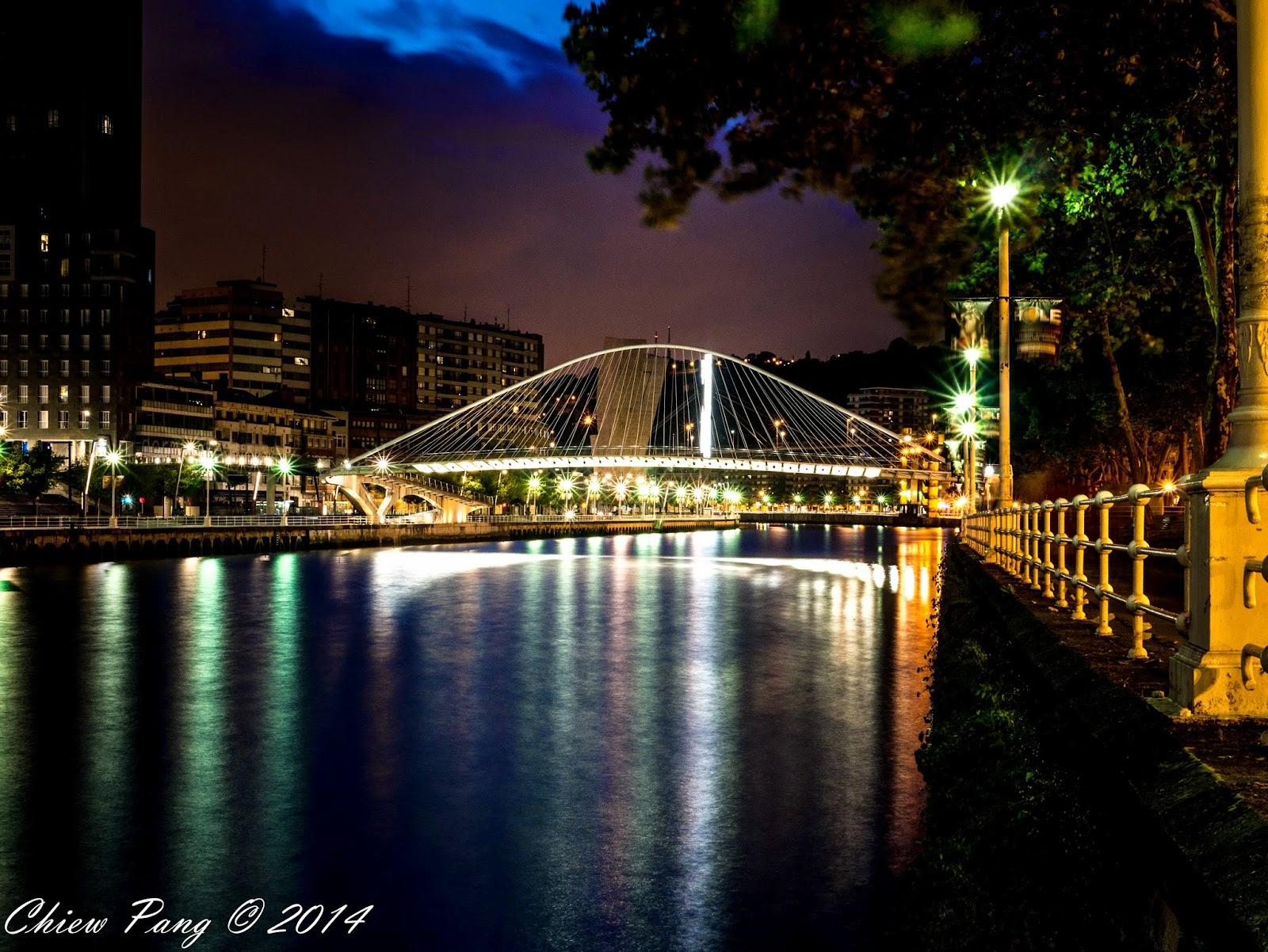 Zubizuri Bridge, Bilbao