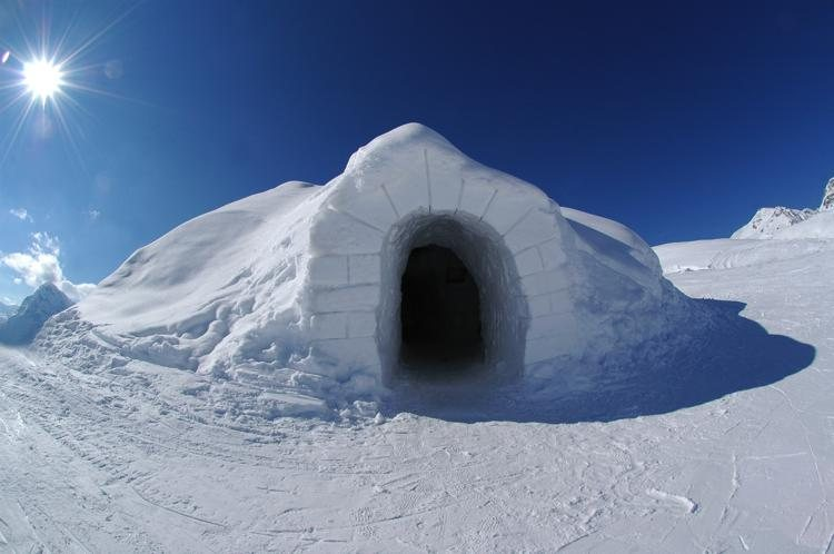 Image result for igloo house pictures