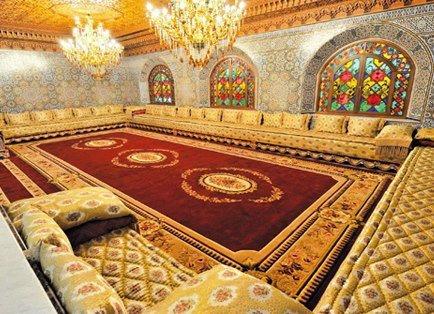 D Coration Maroc Magnifique Salon Marocain De Luxe