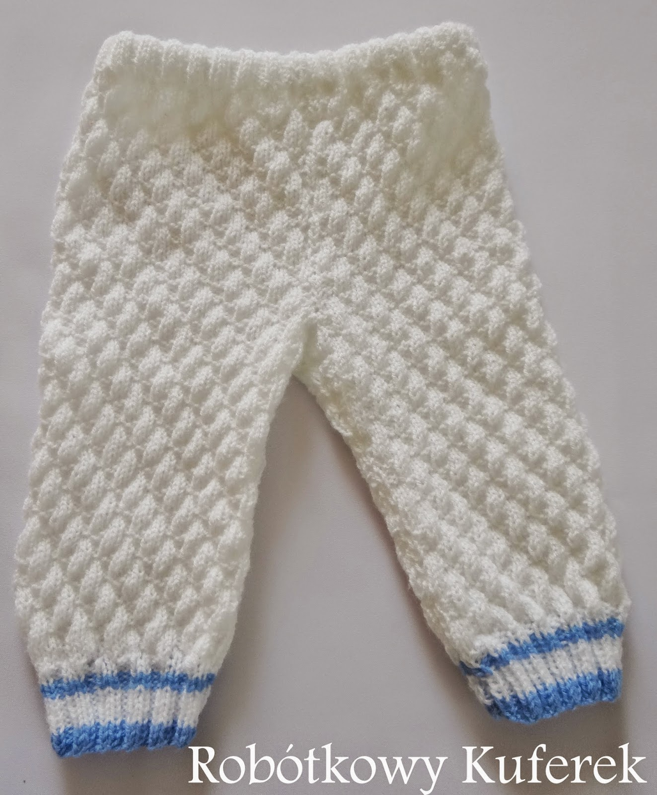 spodnie na drutach