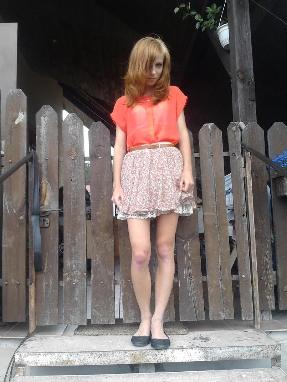 Orange&flowers