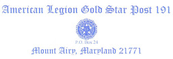 American Legion Gold Star Post 191