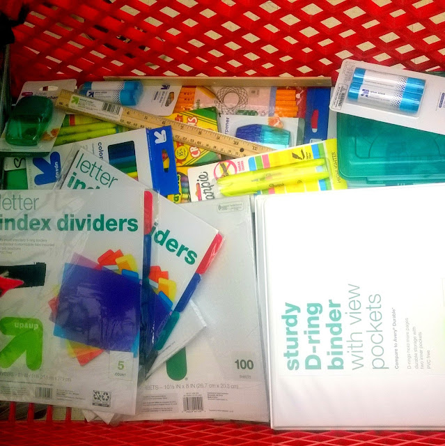 school supplies for fill-a-pack