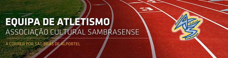 Equipa de Atletismo da Associação Cultural Sambrasense