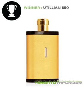 Manufacturing Quality Winner - Utillian 650