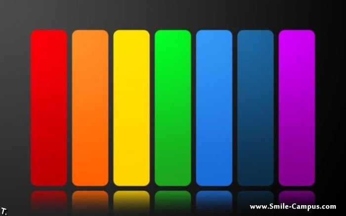 Digital Rainbow Color Pictures
