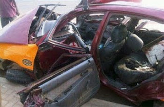 accident taxi2 Two Student Die In Gruesome Accident