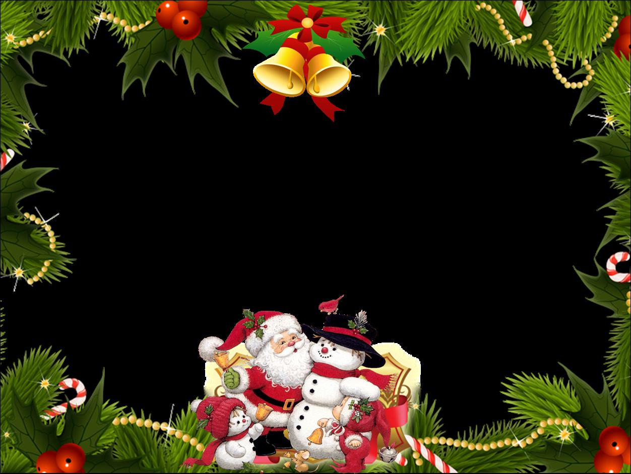 Tarjeta de navidad con marco para fotos retos marcos - Marcos navidad fotos ...