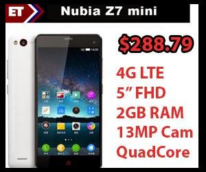 Nubia Z7 Mini