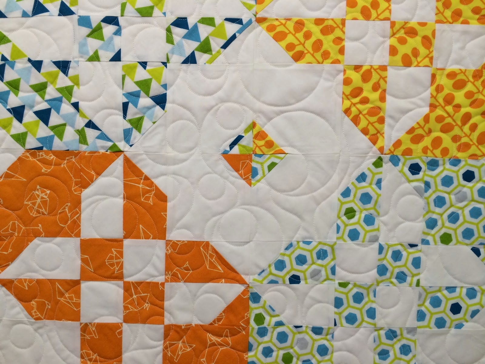 Mary Derryberry's Disappearing Hourglass Quilt
