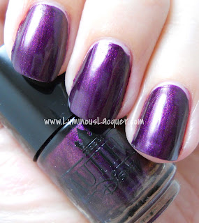LuminousLacquer.com - Beautifully Disney Nail Polish - Wickedly Beautiful Villains Collection - Diva Of The Deep