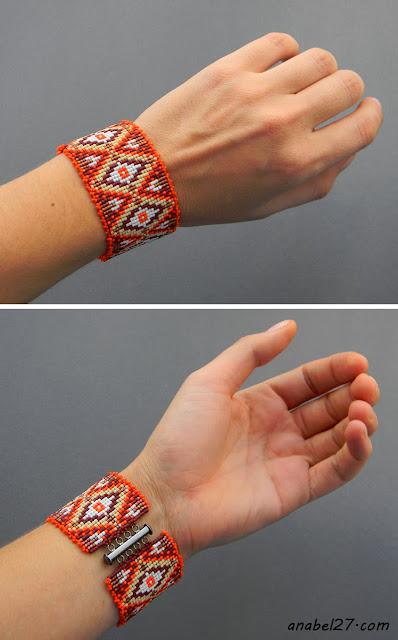 купить браслет из бисера миюки делика miyuki delica