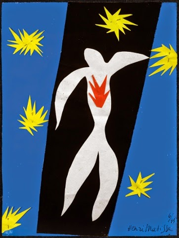 Henri Matisse - The fall of Icarus,1947.