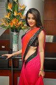 Deeksha panth sizzling saree stills-thumbnail-13