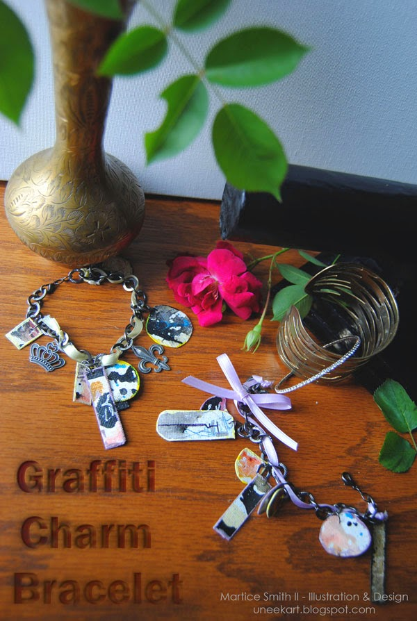Martice Smith II's Graffiti Charm Bracelet Tutorial