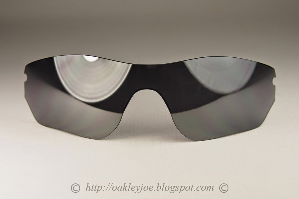 oakley tinfoil replacement lenses jz5w  41-822 Radarlock Edge Replacement $130 black iridium lens lens pre coated  with Oakley hydrophobic nano solution