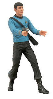 "Diamond Select 7"" Star Trek TOS Mr. Spock Figure"