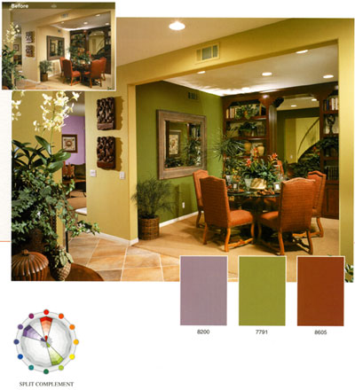 Foundation Dezin Decor Lesoon 7 Colors Types Of Color Scheme
