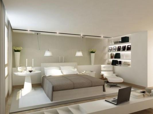 Dormitorios en colores tierra dormitorios con estilo - Decoracion en dormitorios de matrimonio ...