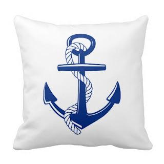 Beach home decor accent throw pillow