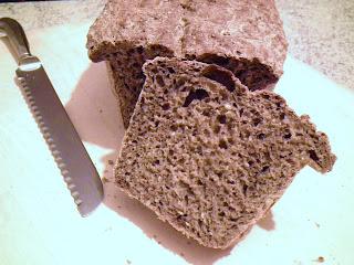 pane nero  fatto in casa
