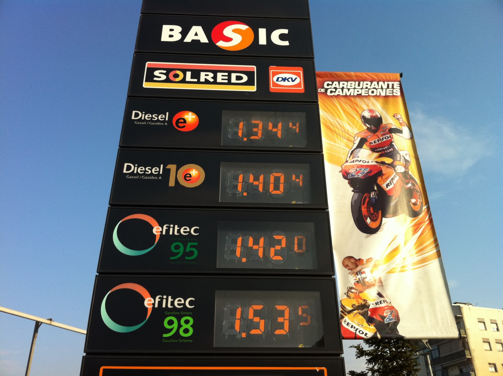 La norma del gasto de la gasolina el gas 53 y