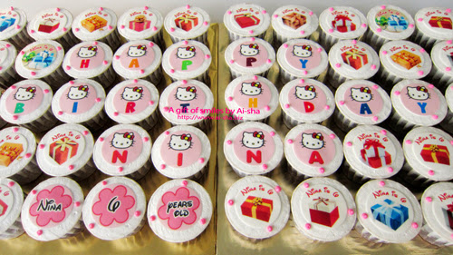 Hello Kitty Birthday Cupcake Aisha Puchong Jaya
