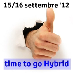 tecnologia ibrida open week end sabato 15 e domenica 16 settembre 2012