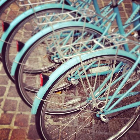 vintage bike art