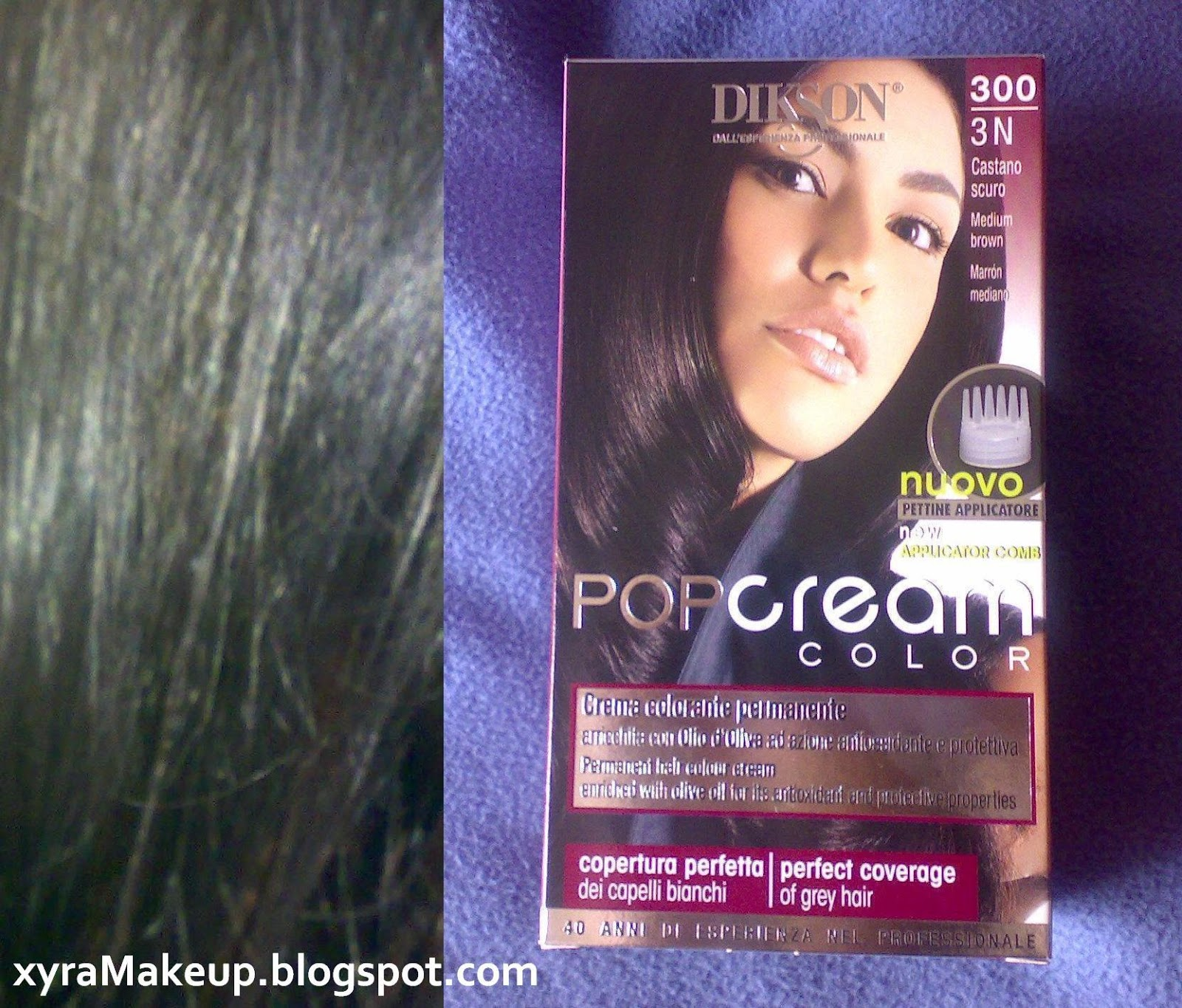 Dikson PopCream Color - recensione tintura nuance castano scuro ...