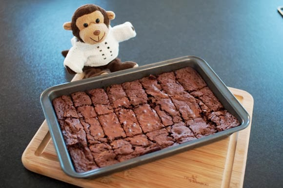 hjemmelaget Brownies sjokoladekake