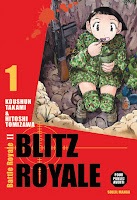 Capa do mangá Battle Royale 2: Blitz Royale