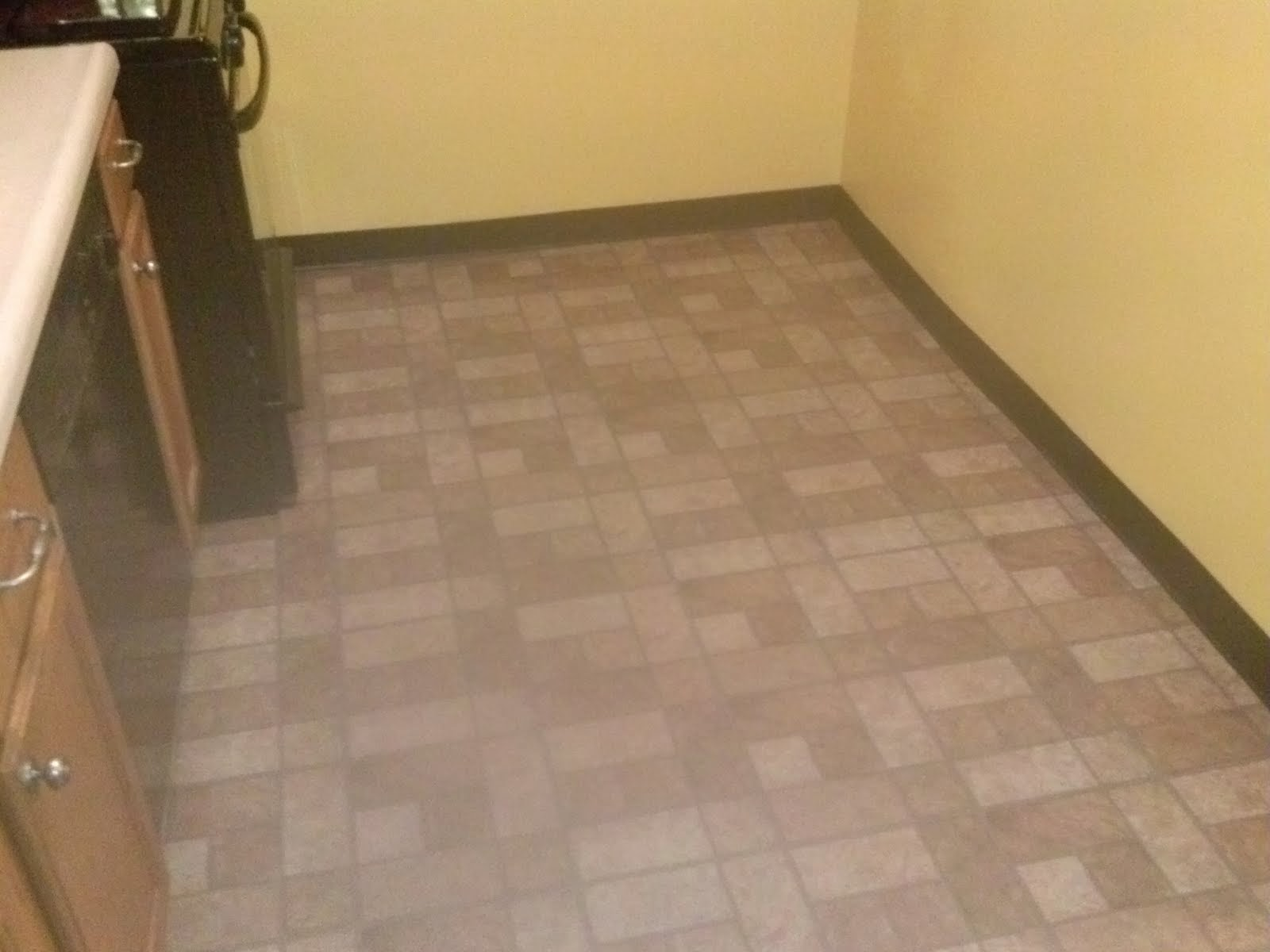 Vinyl Floor Tile and Wall Boarder