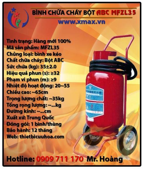 Binh chua chay bot abc mftzl35 35kg