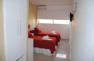 habitación urban express montevideo hotel
