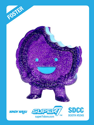 """Glitter Grape"" Foster Vinyl Figure by Super7"